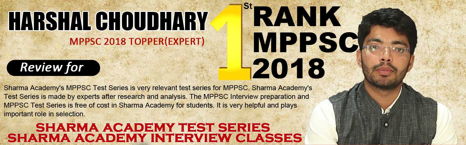Sharma Academy Best UPSC MPPSC IAS Coaching in Indore, MPPSC Preparation, MPPSC Syllabus, MPPSC Test Series, MPPSC Interview